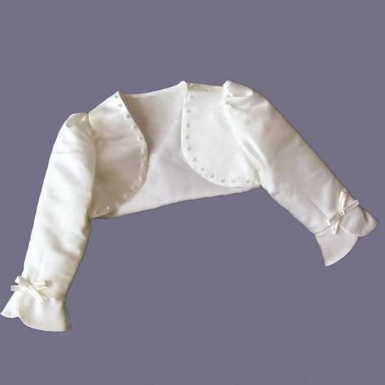 Boléro Fille Bébé Blanc 80-130cm