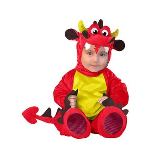Carnival Baby Costume Red Dragon 6-12 monthes