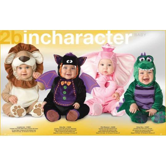 Incharacter Carnival Halloween Baby Bat Costume 0-24 months