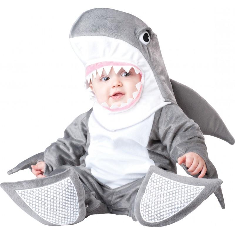 Costume Carnevale Squalo per Bambino Incharacter 0-24 mesi