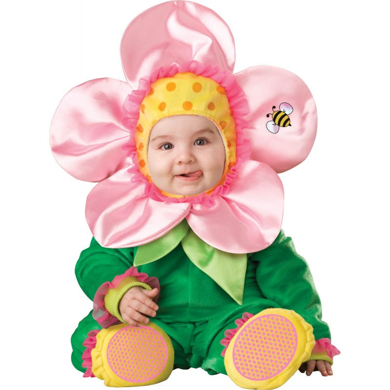 Incharacter Costume Carnevale Baby Blossom per Bambini 0 - 24M