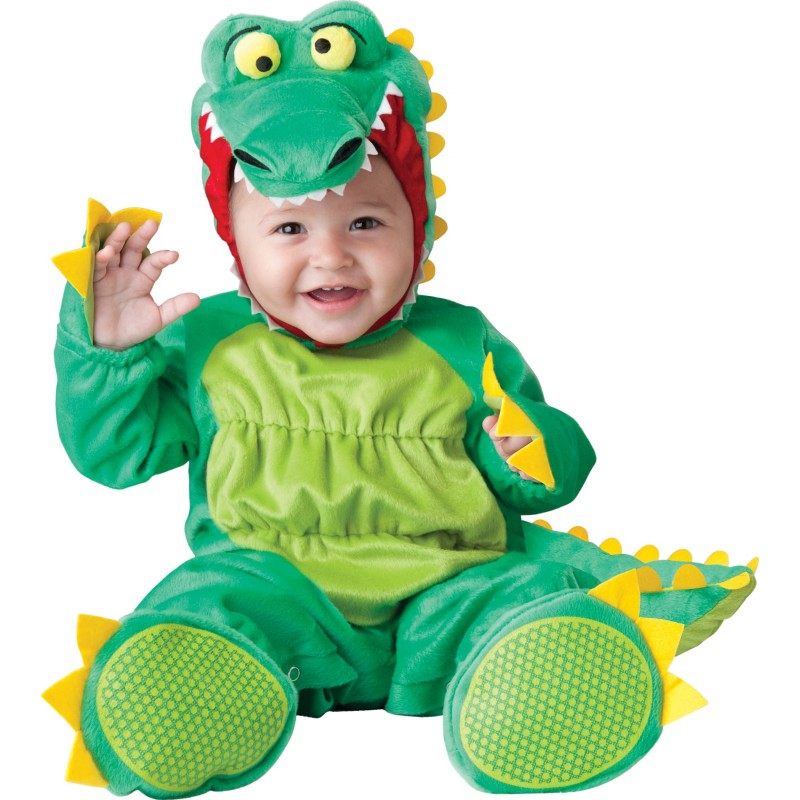 Incharacter Costume de Carnaval Enfant Alligator 0-24 mois