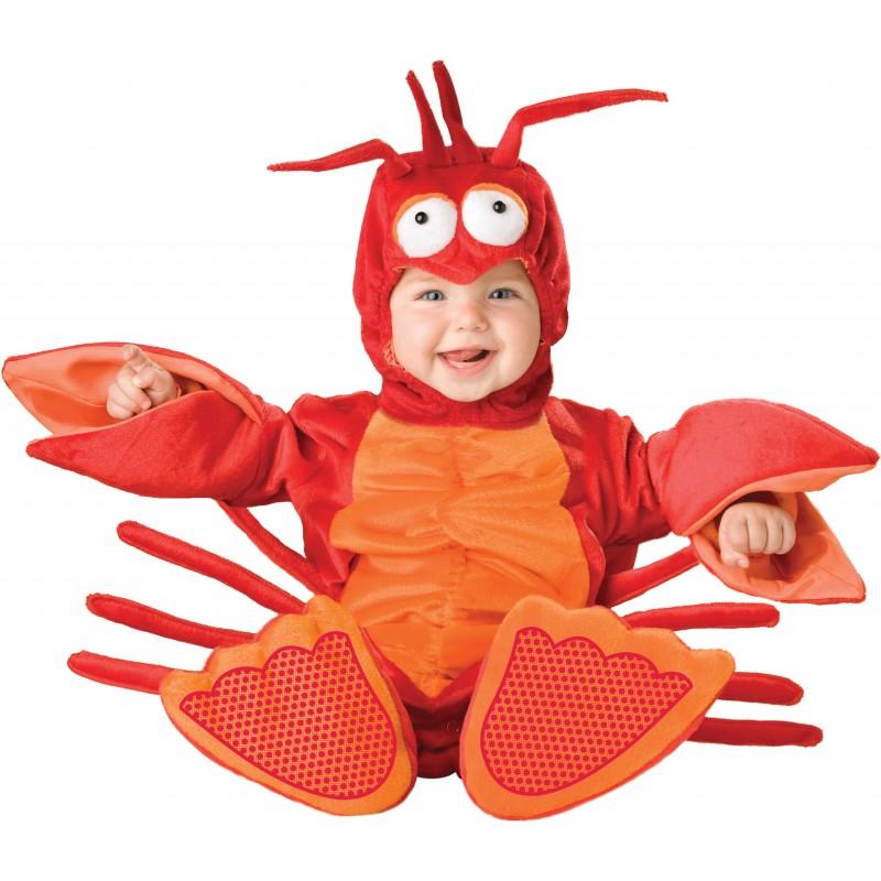 Costume Carnevale Aragosta per Bambino Incharacter 0-4 anni