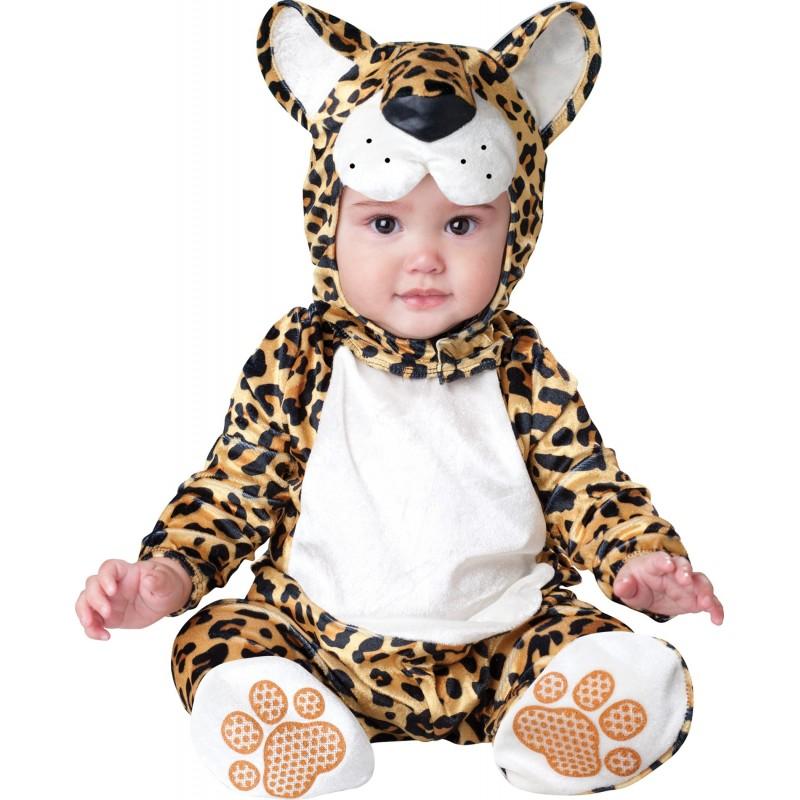 Costume Carnevale Leopardo per Bambino Incharacter 0-6 mesi