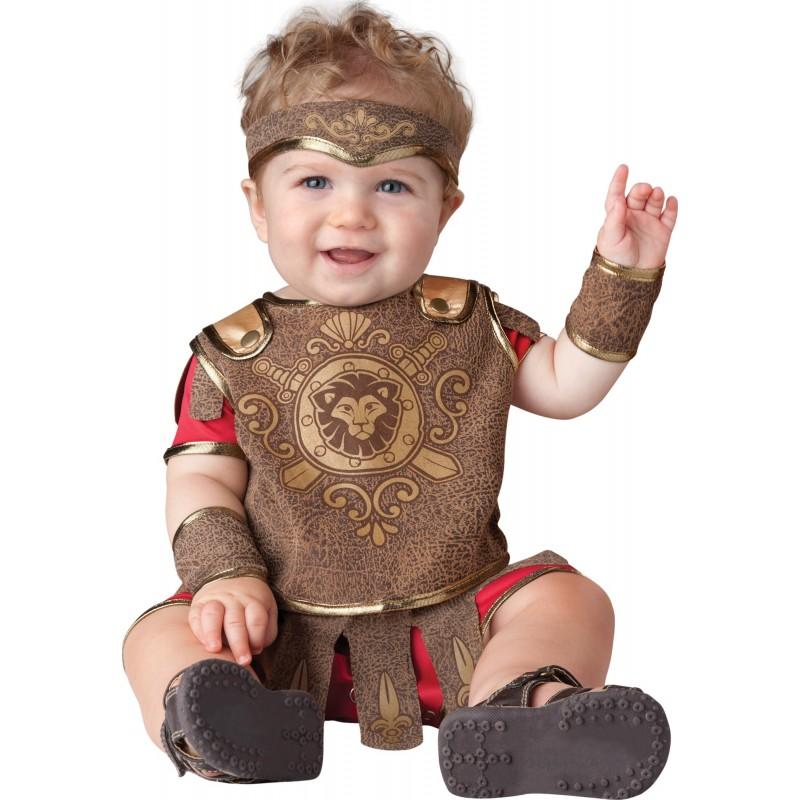 Incharacter Costume de Carnaval Enfant de Petit Gladiateur 0-24 mois