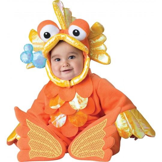 Costume Carnevale Pesciolino Rosso per bambino Incharacter 12-24 mesi