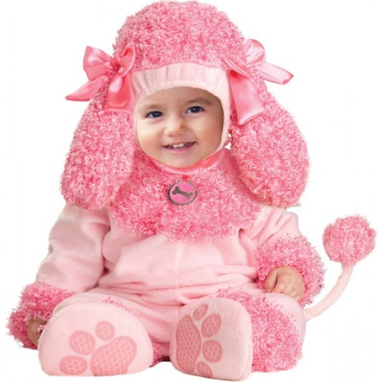 Carnival Baby Costume Little Pink poodle up to 3 years