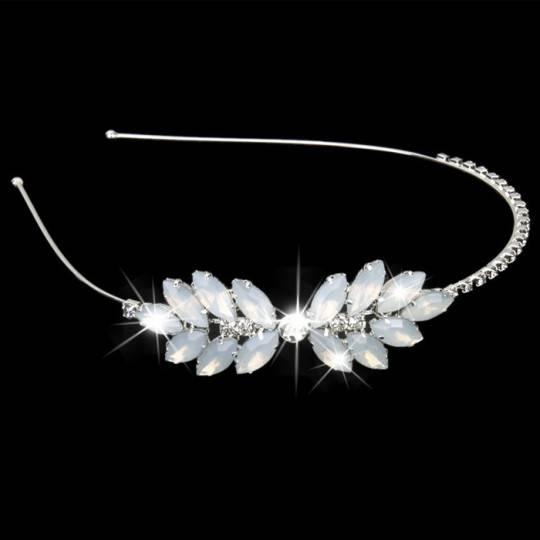 Serre-tête de cérémonie avec perles