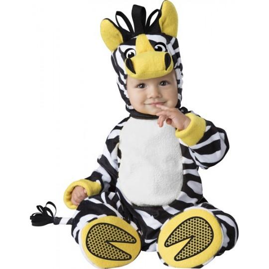 Costume Carnevale Zebra per bambino Incharacter 6-24 mesi