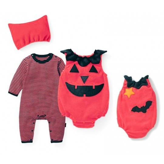 Halloween baby costume 3 pcs 0-24 months