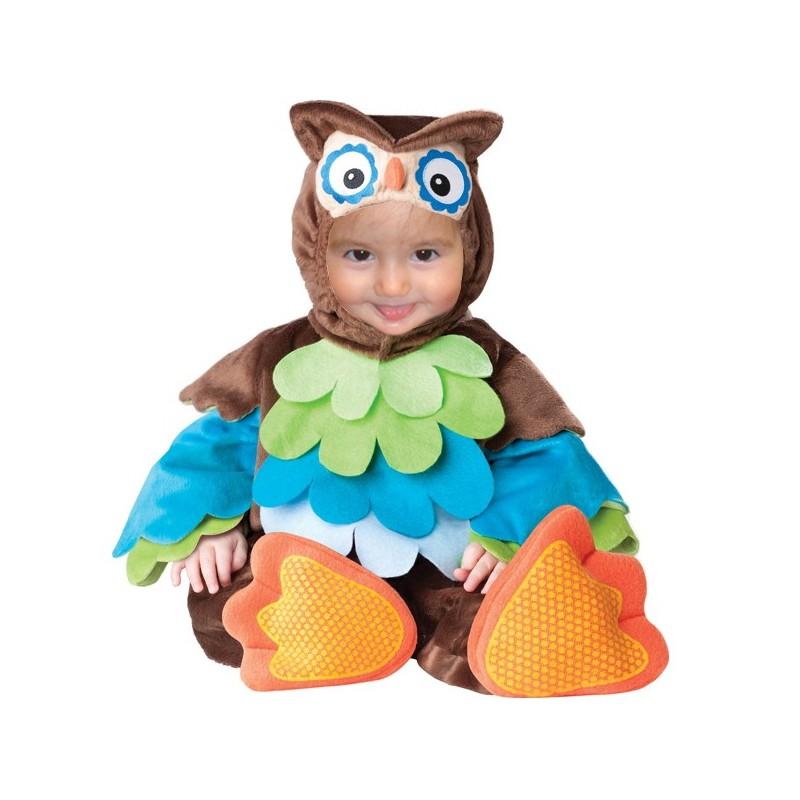 Costume Carnevale Gufo per Bambino 3 anni