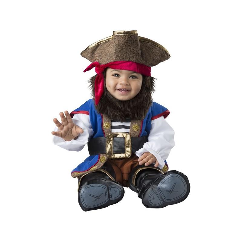 Incharacter Costume de Carnaval Enfant Capitaine Pirate 0-24 mois