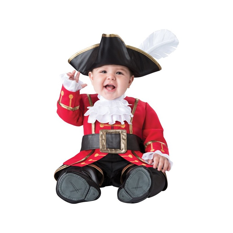 Costume Carnevale Capitano dei Pirati per Bambino Incharacter 0-24 mesi