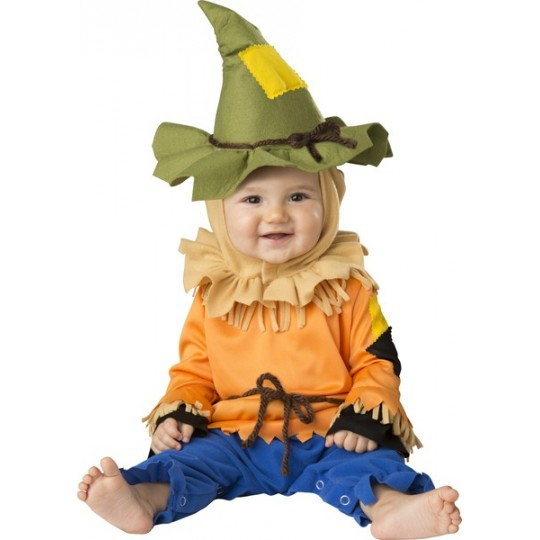 Incharacter Carnival Baby Costume Silly Scarecrow 0-24 months