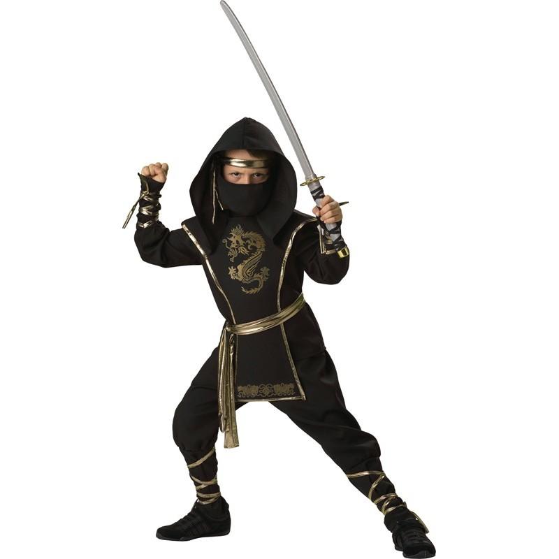 Incharacter Costume de Carnaval et Halloween Guerrier Ninja 4-14 ans