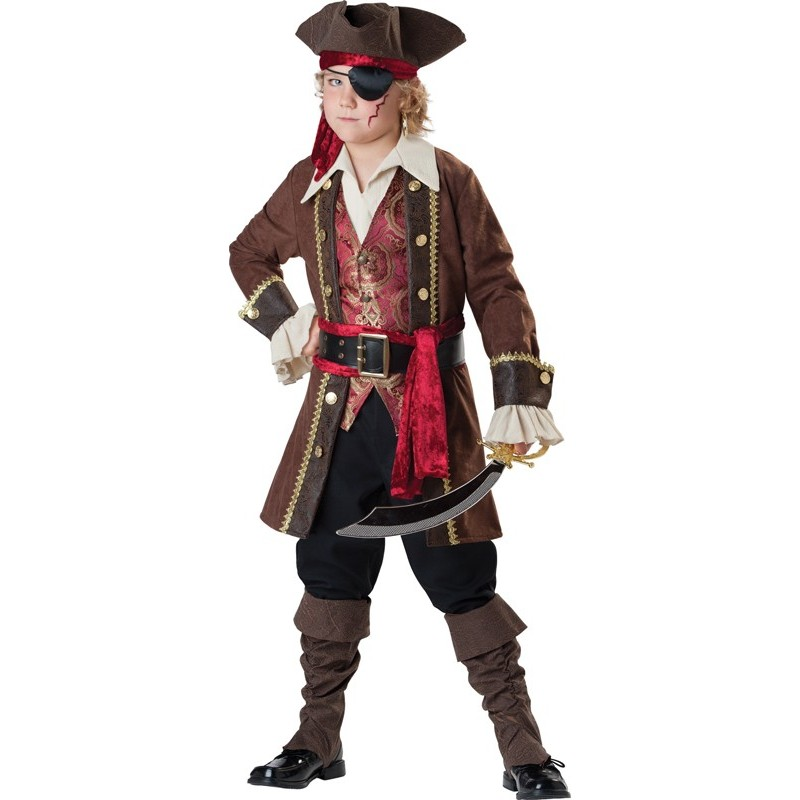 Incharacter Costume de Carnaval Pirate 3-14 ans
