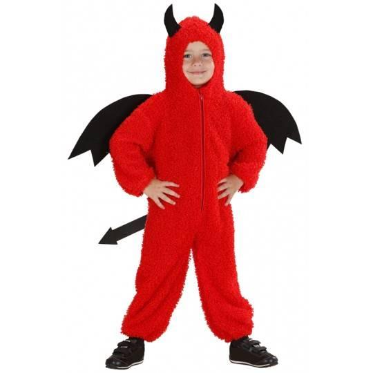 Costume diavoletto Fuzzy 2-3 anni