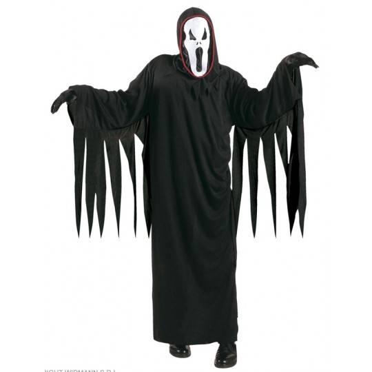 Costume Screaming Ghost 5-13 anni