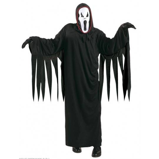 Screaming Ghost Costume 5-13 years