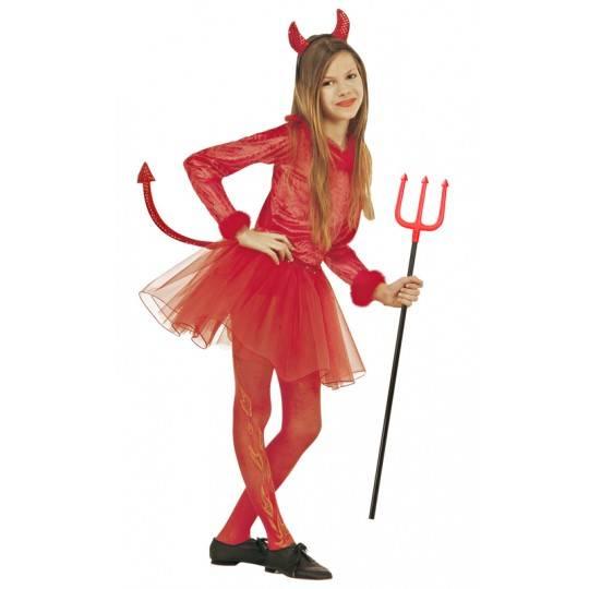 Costume de diablesse 5-13 ans