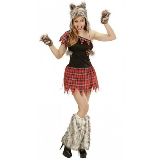 Costume de fille-loup pour femmes