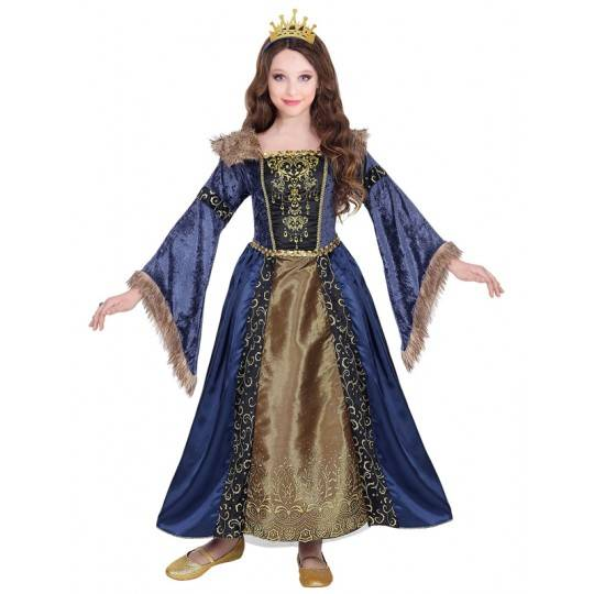 Medieval Queen costume 5-13 years