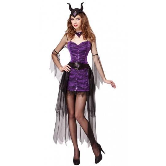 Costume de Maléfique pour femmes