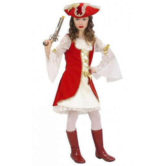 Costume de Capitaine Pirate 8-10 ans