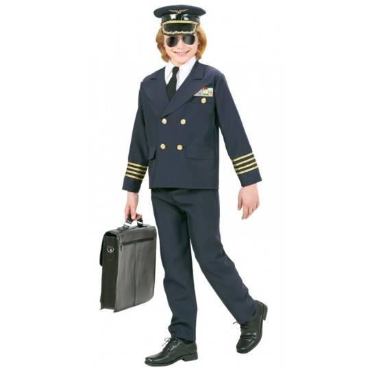 Costume Pilota 8-10 anni