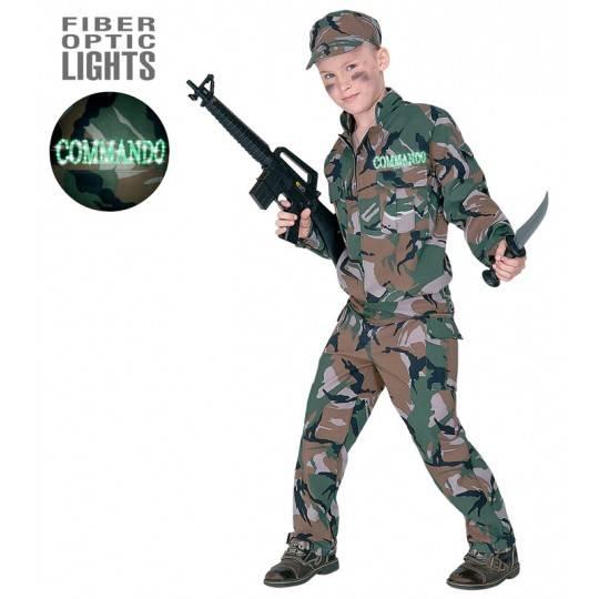 Costume de soldat 11-13 ans