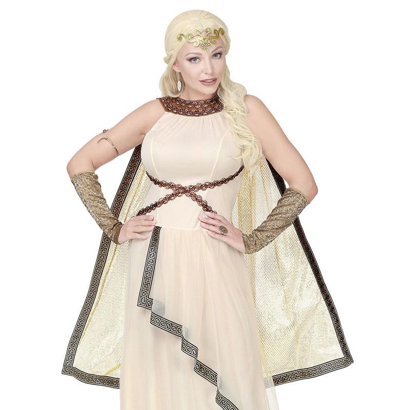 Adulto Regina Egiziana Costume donna Cleopatra Costume Greco Dea Romana
