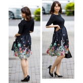 Maternity and nursing 2 pcs set with floral pattern