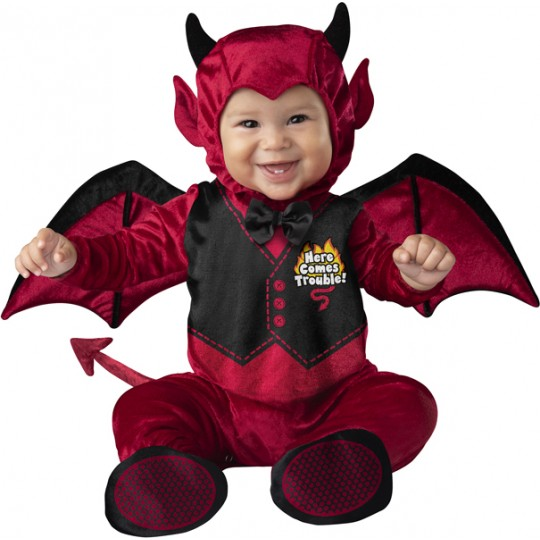 Incharacter Carnival and Halloween Baby Costume Little Devil 0-24 months