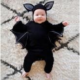 Halloween bat baby costume