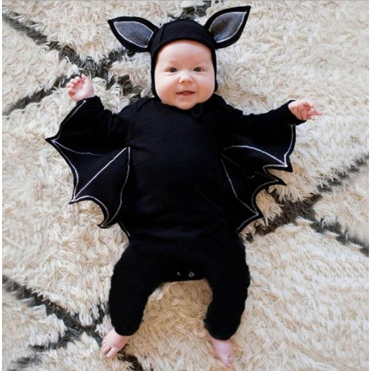 Halloween bat baby costume