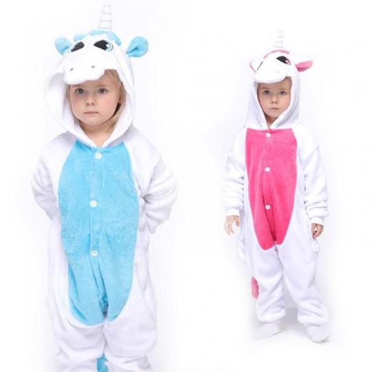 Costume Pigiama Unicorno 3-12 anni