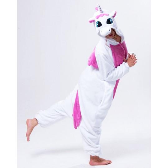 Costume pyjama Cosplay d'unicorne pour adultes