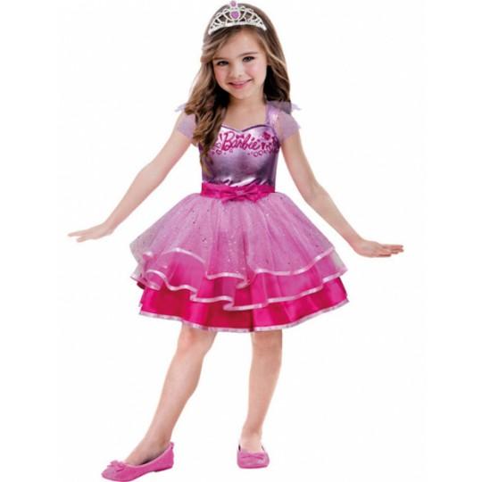 Costume de Barbie Ballet 3-10 ans