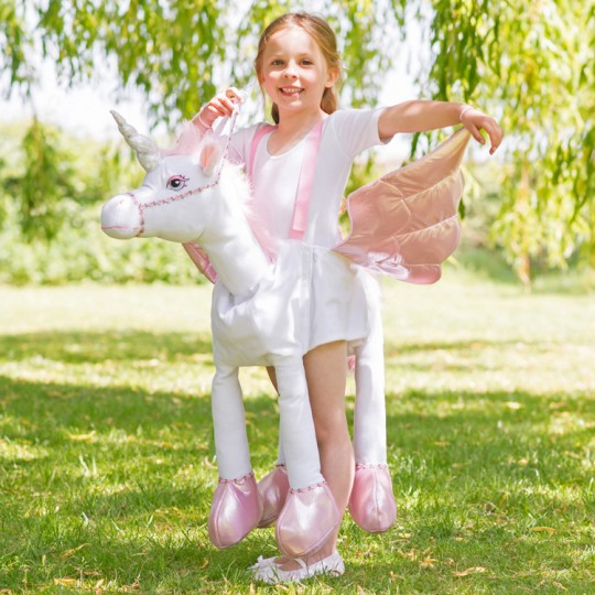 Costume de Unicorne Ride On 3-8 ans