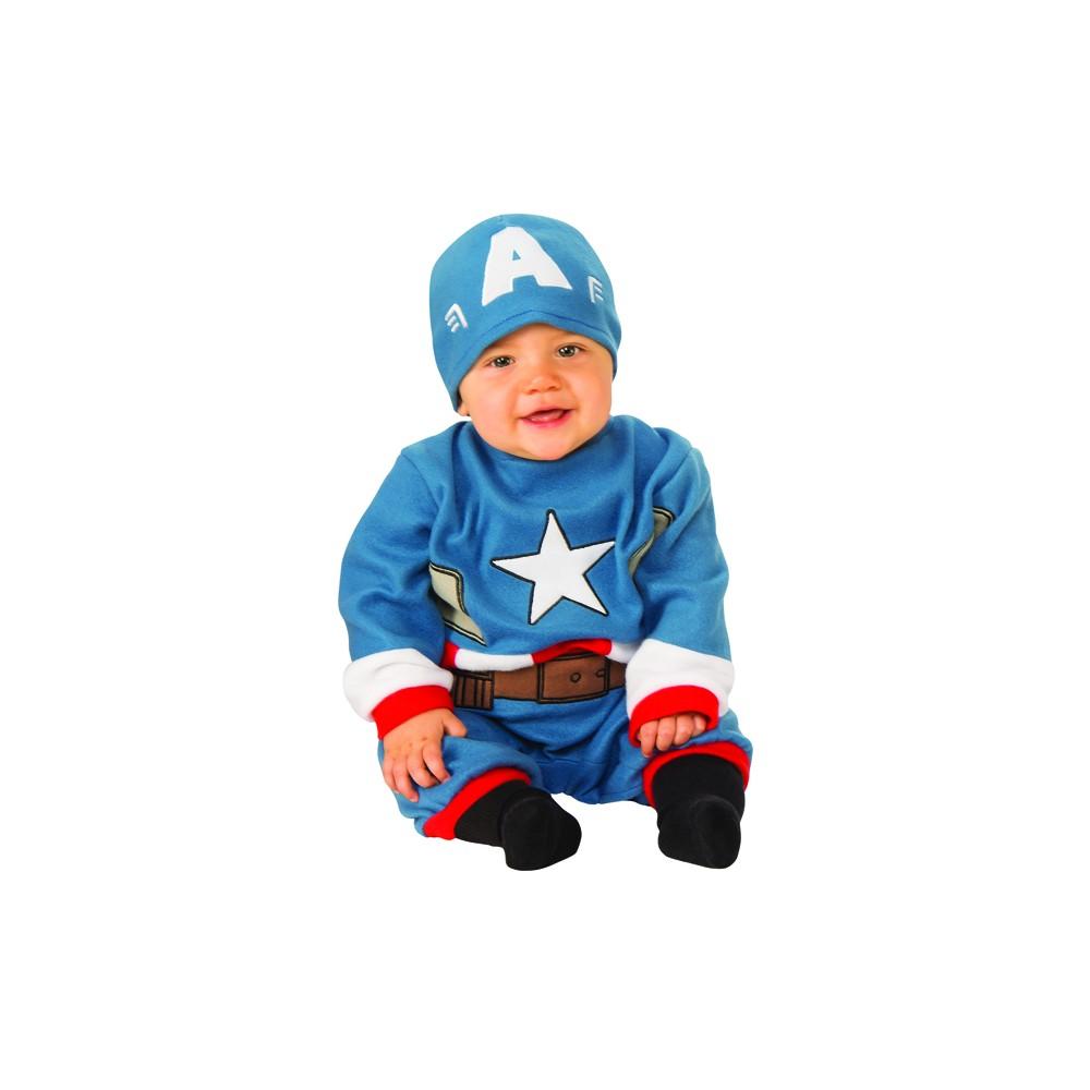 COSTUME di CARNEVALE da CAPITAN AMERICA AVENGERS BABY 28012 vestito per bambino