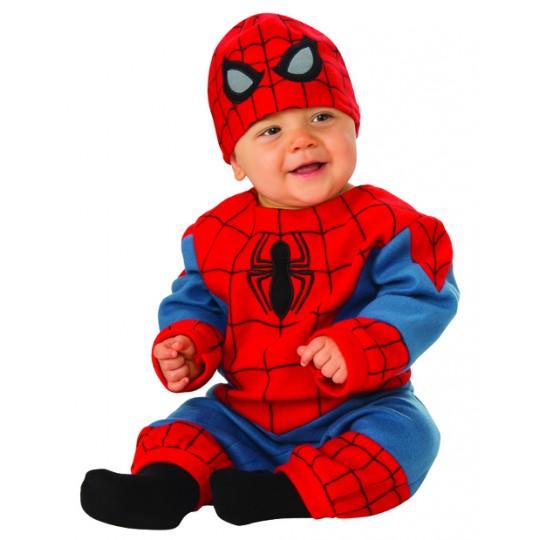 Costume Spider Man neonato 0-12 mesi