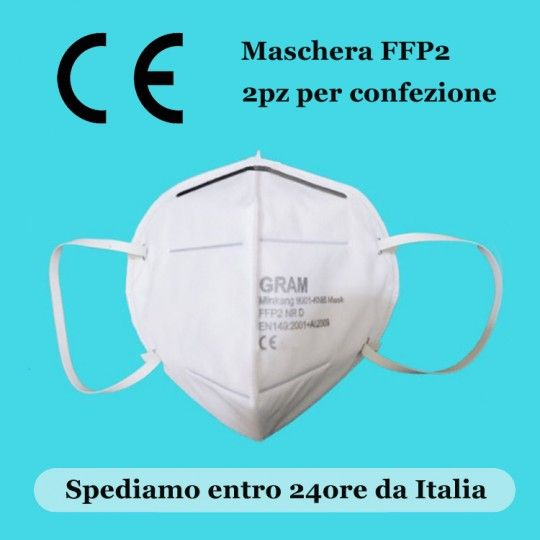 Masques FFP2 KN95 pack de 2 disponibles immédiatement