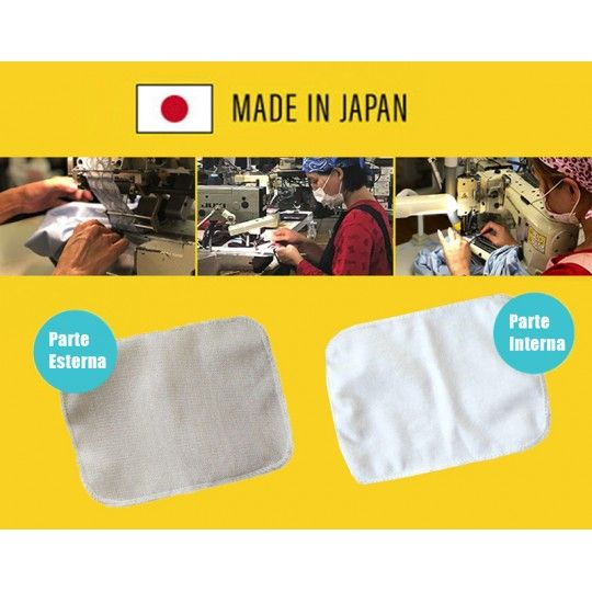 Filtri lavabili per mascherina con effetto antibatterico e anti-odori