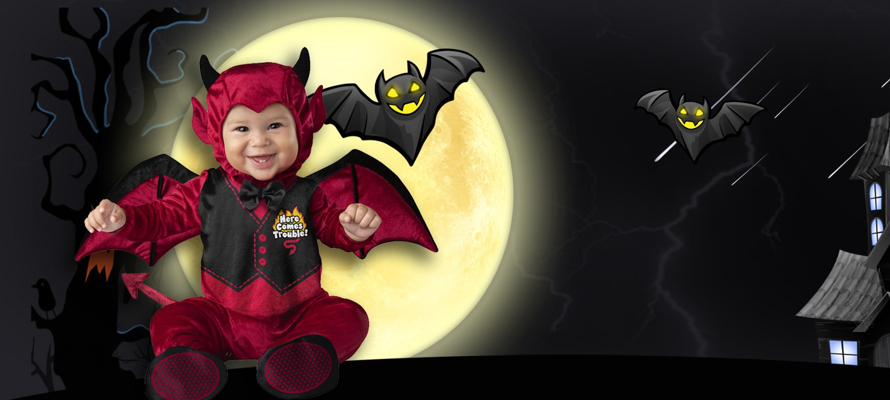 Newborn and Toddlers Halloween Costumes